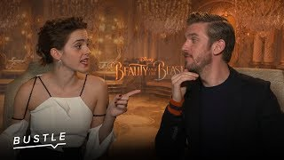 'Beauty And The Beast' Stars Play Finish The Disney Lyric