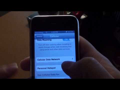 APN Settings menu on unlocked iPhone with Sim Card Swap trick . No Jailbreak