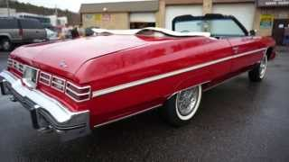 Review of 1975 Caprice Classic Convertible For Sale~Fantastic & Fully Restored