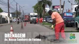 Drenagem retira 12 toneladas de resíduos das galerias pluviais da N. Sra. de Fátima