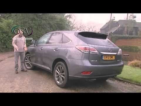 Lexus RX450h Review