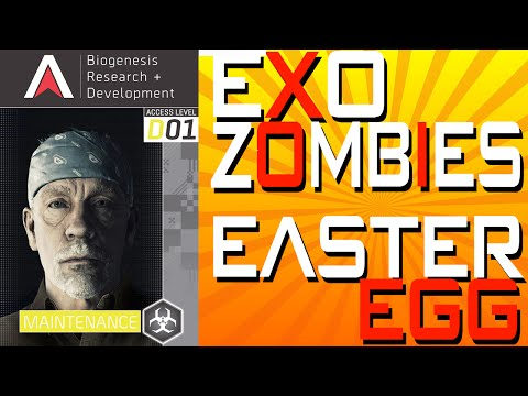 """Exo Zombies"" - EASTER EGG - ""Oz"" John Malkovich Key Card! (Advanced Warfare Exo Zombies Easter Egg)"