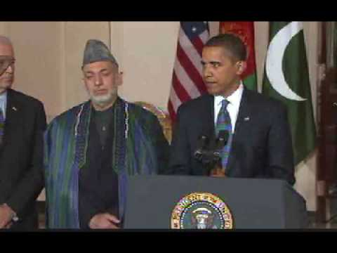 President Obama on Afghanistan-Pakistan Talks
