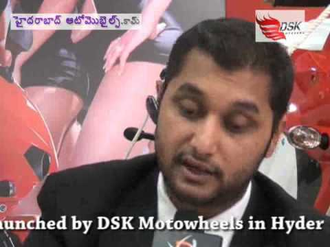 The Big Boy Hyosung GT 250R Launched by DSK Motowheels in Hyderabad Video -2