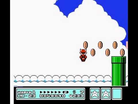 Super Mario Bros 3 - Nintendo NES - flute 1 - User video