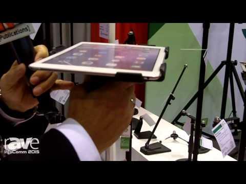 InfoComm 2015: König & Meyer Features the New iPad Air 2 Clamp-On Model 19727