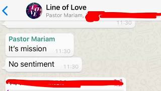 *Exclusive* Exposing Mariam's Line  Where She Demands  Members To Raise Crazy Amount Of Money