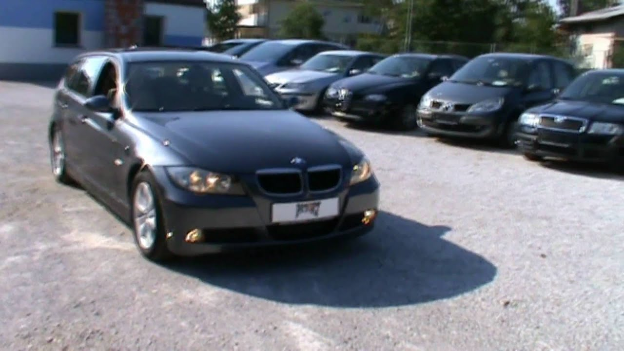 2007 bmw 320d touring full review start up engine and in depth tour youtube. Black Bedroom Furniture Sets. Home Design Ideas