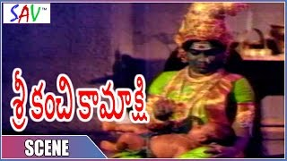 Meenakshi Ammavaru Taking Care About Child || Sri Kanchi Kamakshi Movie  || SAV Entertainment