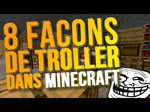 8 Façons de Troller dans Minecraft