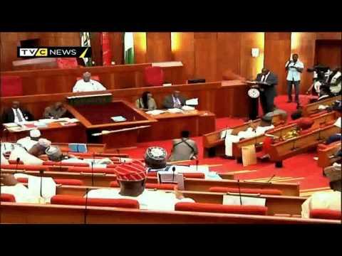 Nigeria's Senate screens ministerial nominee James Ocholi