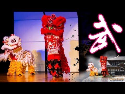 Lion Dance Demonstration Beverly Hills Hawthorne Elementary School