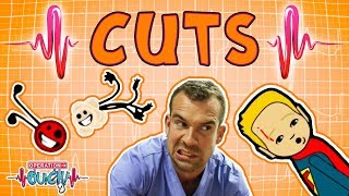 Operation Ouch - Deep Cuts and Wounds | The Human Skin |  Science for Kids