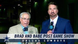 Brad and Babe Post Game Show: Winning Formula | Dallas Cowboys 2018