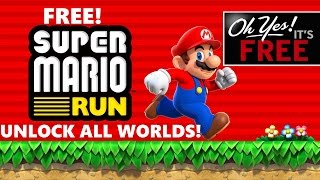 Unlock ALL Super Mario Run worlds for FREE! Get the full version of Super Mario Run Free