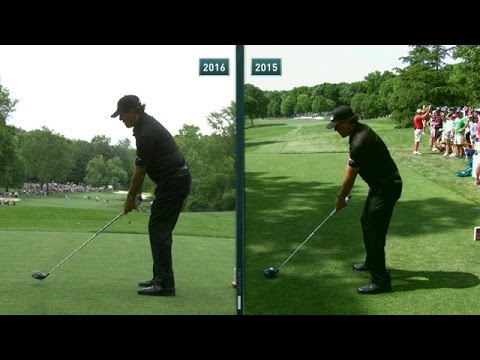 Phil Mickelson's slo-mo swing is analyzed at Wells Fargo