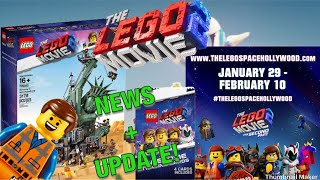 LEGO MOVIE 2 D2C UPDATE, CARDS & HOLLYWOOD EVENT! (NEWS)