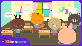 Good Morning Song | Songs for Kids | Morning Song for Kindergarten | The Kiboomers