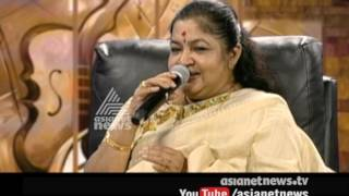 KS Chitra singing award winning song