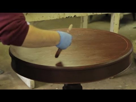 how to have smooth stain and varnish finish