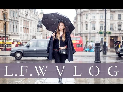 VLOG: LONDON FASHION WEEK | Hello October
