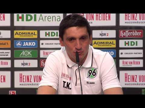 Tayfun Korkut lobt die Qualität von Neuzugang Joselu | Hannhover 96 - FC Schalke 04
