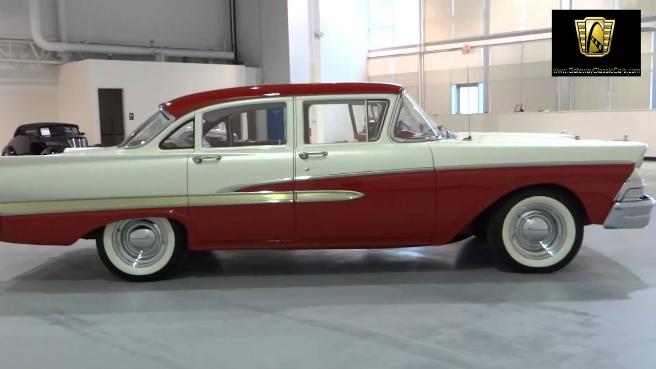 Cars For Sale In Indianapolis >> 1958 Ford Custom 300 - #167-ndy Gateway Classic Cars - Indianapolis - YouTube