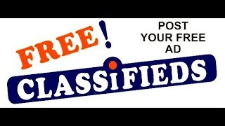 Free Classifieds Without Registration - Post Classified Ad Free Without Registration