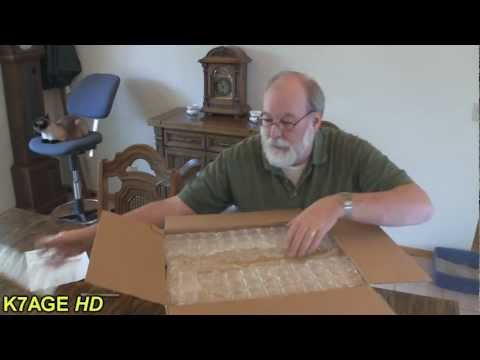 Icom IC-7200 Unboxing and Manual