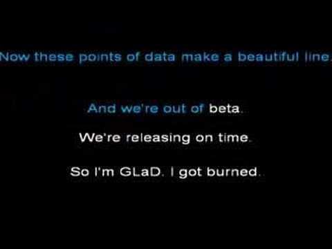 Portal - Still Alive with lyrics