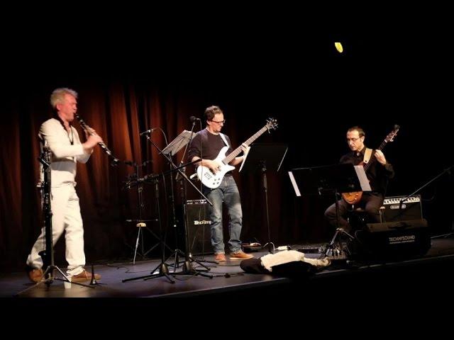 Laurent Bonnot Ft. Laurent Dehors, Frédéric Favarel - Laurent Bonnot Trio Live