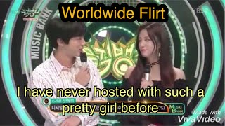 Bts Jin flirting with girls