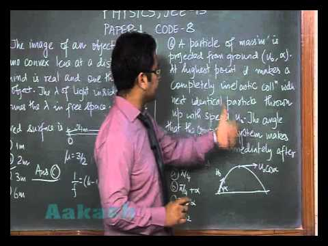 JEE-Advanced 2013 Paper-1 Physics Solution (Question 05-06) by Aakash IIT-JEE