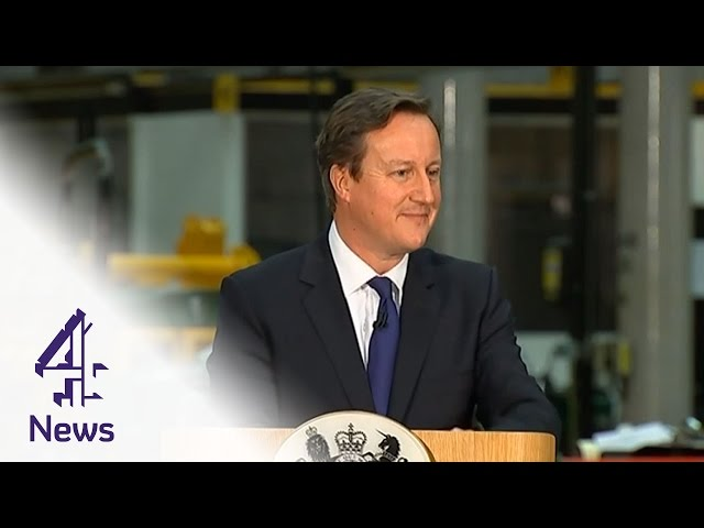 Alarm bells ring as David Cameron delivers immigration speech   Channel 4 News