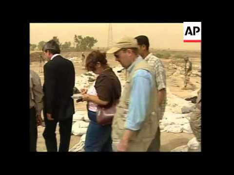 WRAP Bremer tours mass grave site and Babylon