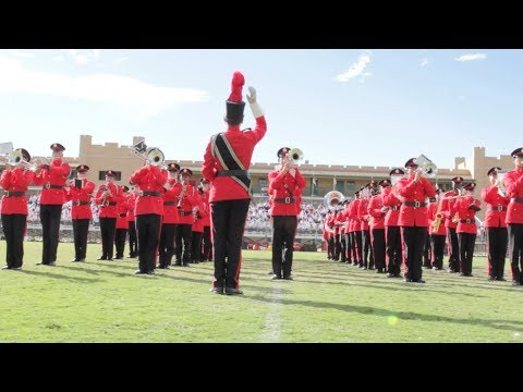 "New Mexico Military Institute Marching Band - ""The Fight Song"""