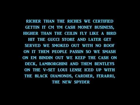 Money to Blow - Birdman - Lyrics
