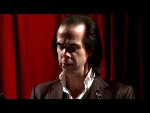 Nick Cave reading from Nabokov