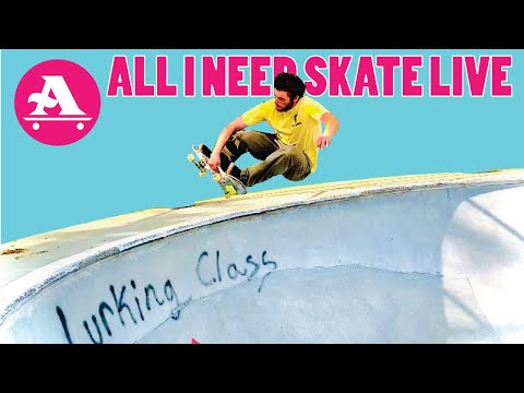 OMF skatepark bowl with Evan and Talen - ALL I NEED SKATE LIVE