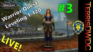 World of Warcraft Quest Leveling WARRIOR Level 17   LIVE   Family Friendly