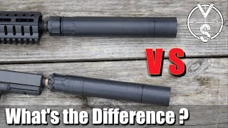 Silencer VS Suppressor: What