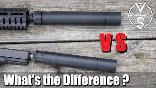 Silencer VS Suppressor: What