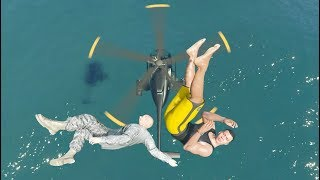 GTA 5 WATER Ragdolls Jump/Fall Compilation (GTA 5 Fails Funny Moments)