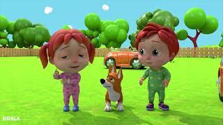 BABY SONG Wheels On The Bus nursery rhyme mp4