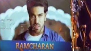 Ram Charan receives Best Hero award @TSR Tv9 National Film Awards