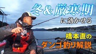 冬&厳寒期に効かせるダンゴ釣り解説