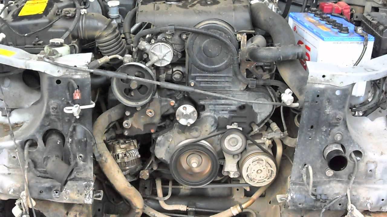Mitsubishi L200 New Shape 2005 Did Running Engine 64k