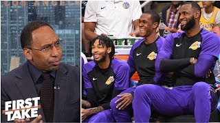 Stephen A.: Focus of LeBron James' Lakers debut is on supporting cast | First Take
