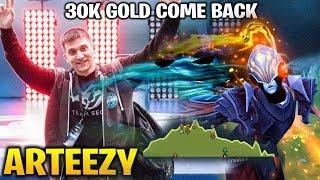 Arteezy: 30K Gold COMEBACK IS REAL!! Phantom Assassin Dota 2