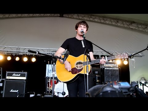 Jake Bugg's surprise set on the BBC Introducing stage at Reading 2014
